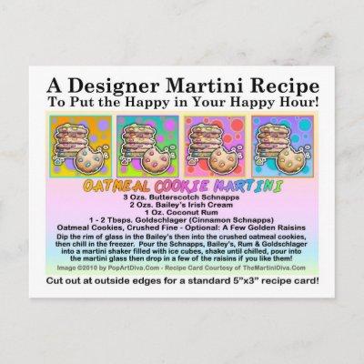 a recipe for buttershotch martini