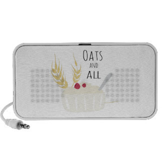Oats And All Notebook Speakers