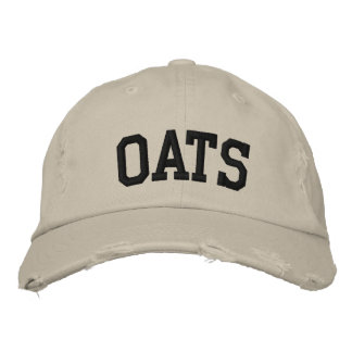 Oats Embroidered Hat
