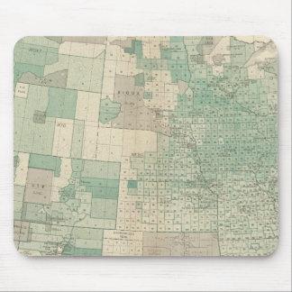 Oats per acre sown mousepads
