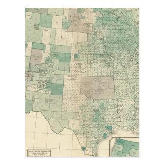 Oats per acre sown postcard