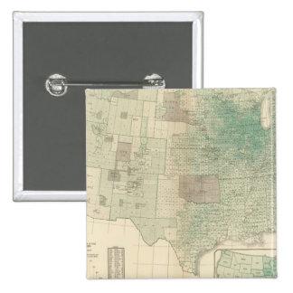 Oats per square mile 2 inch square button