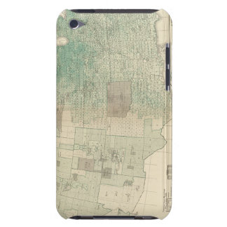 Oats per square mile Case-Mate iPod touch case