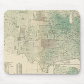 Oats per square mile mouse pad