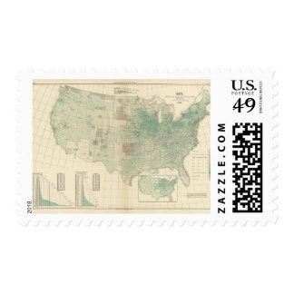 Oats per square mile postage