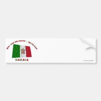 Oaxaca - Más Que un Lugar ... Mi Hogar Car Bumper Sticker