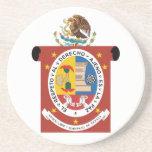 Oaxaca, Mexico Beverage Coasters