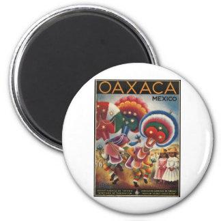 Oaxaca Mexico 2 Inch Round Magnet