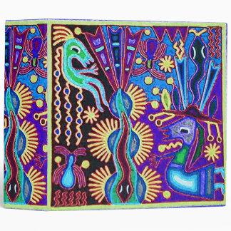 Oaxaca Mexico Mexican Mayan Tribal Art Boho Travel Binder
