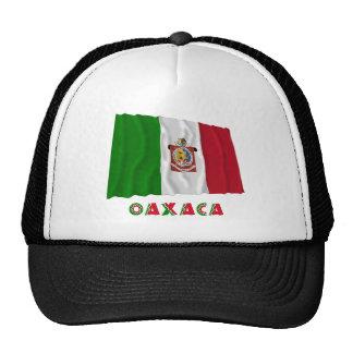 Oaxaca que agita la bandera oficiosa gorras de camionero