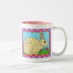 Oaxacan Bunny in Clover Mugs