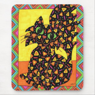 Oaxacan Cat Mouse Pad