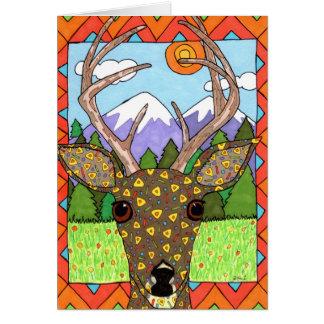 Oaxacan Deer Card