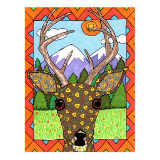 Oaxacan Deer Postcard