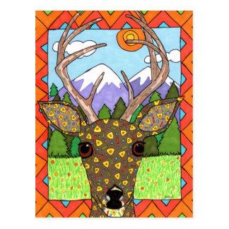 Oaxacan Deer Postcards