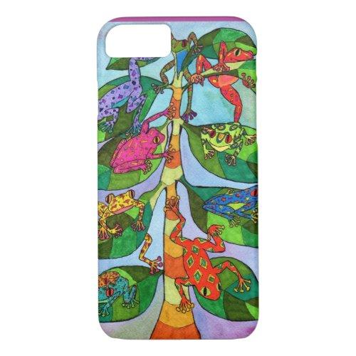 Oaxacan Frog Tree of Life Phone Case