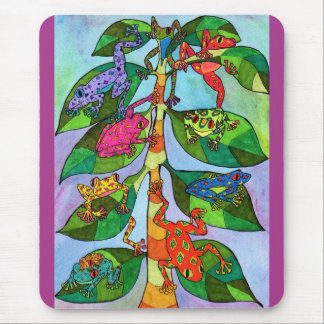 Oaxacan Frog Tree of Life Mouse Pad