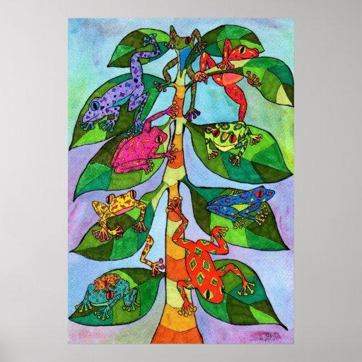Oaxacan Frog Tree of Life Posters
