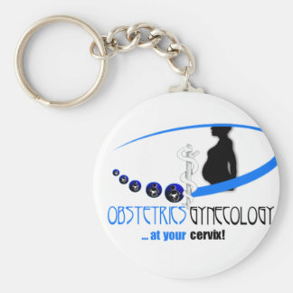 OB / GYN AT YOUR CERVIX - FUNNY MEDICAL KEYCHAIN