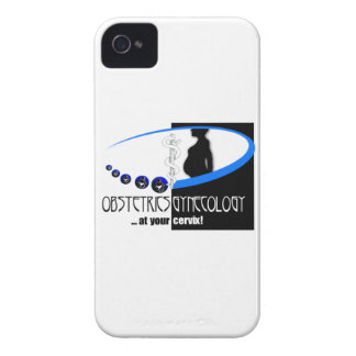 OB / GYN AT YOUR CERVIX OBSTETRICIAN HUMOR iPhone 4 CASE