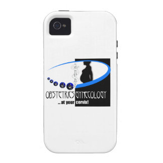 OB / GYN AT YOUR CERVIX OBSTETRICIAN HUMOR iPhone 4/4S COVER