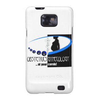 OB / GYN AT YOUR CERVIX OBSTETRICIAN HUMOR SAMSUNG GALAXY S2 COVER