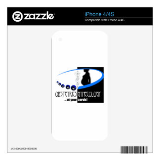 OB / GYN AT YOUR CERVIX OBSTETRICIAN HUMOR SKINS FOR iPhone 4S
