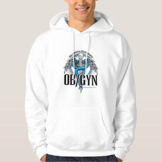 OB/GYN Blue Caduceus Hoodie