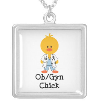 OB/GYN Chick Necklace
