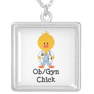 OB/GYN Chick Necklace
