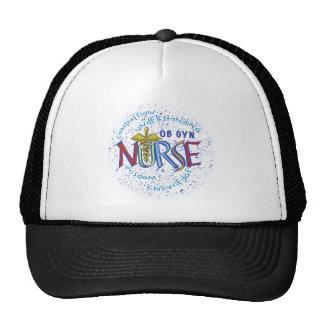 Ob Gyn Nurse Motto Trucker Hat