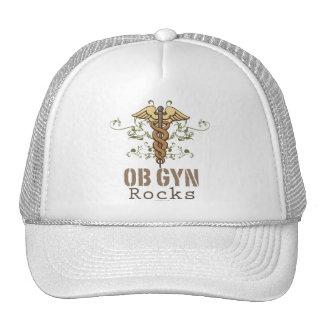 OB GYN Rocks Cap Mesh Hats