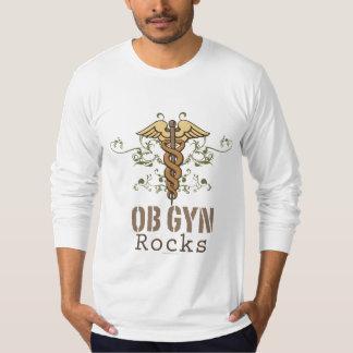 OB GYN Rocks Fitted Long Sleeve Tshirt