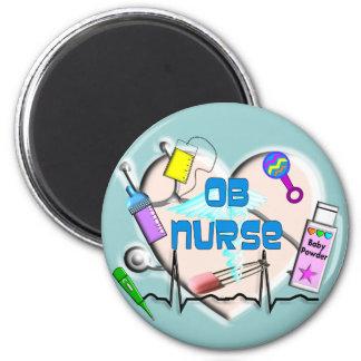 OB Nurse Art Gifts Magnet