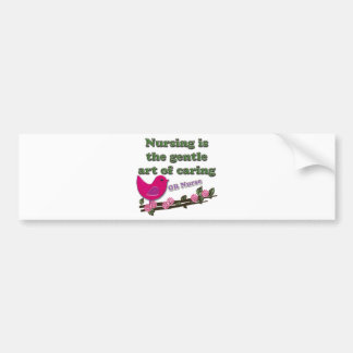 OB NURSE BUMPER STICKER