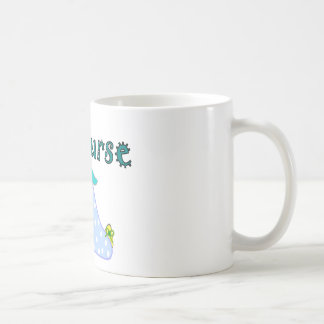 OB Nurse Gifts, Baby in Blanket--Adorable Classic White Coffee Mug