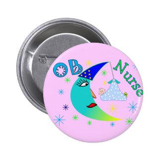 OB Nurse gifts 2 Inch Round Button