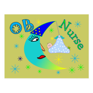 OB Nurse gifts Postcard