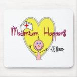"""OB Nurse """"Meconium Happens"""" Hilarious Mouse Mats"""
