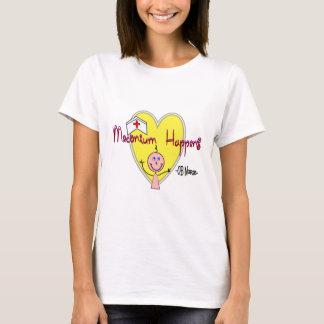 "OB Nurse ""Meconium Happens"" Hilarious T-Shirt"