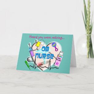 Obstetrics Nurse Cards | Zazzle