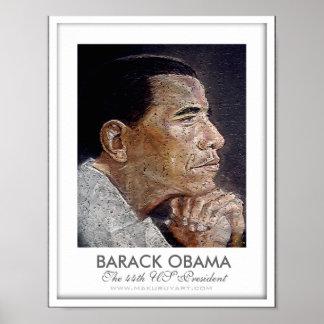 ob-printpe2, BARACK OBAMA, The 44th US Presiden... Poster