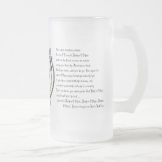 """OBA """"Hell's Half Acre"""" frosted mug"""