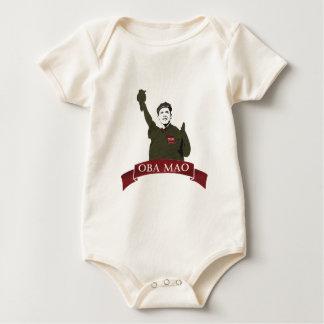 OBA MAO Obama + Statue of Liberty Parody Baby Bodysuit
