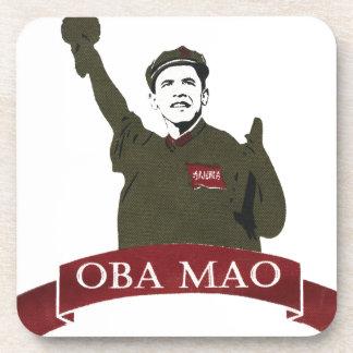 OBA MAO Obama + Statue of Liberty Parody Beverage Coaster