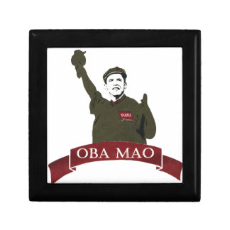 OBA MAO Obama + Statue of Liberty Parody Jewelry Box