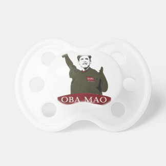 OBA MAO Obama + Statue of Liberty Parody Pacifier