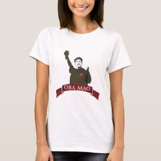 OBA MAO Obama + Statue of Liberty Parody T-Shirt
