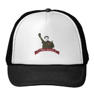 OBA MAO Obama + Statue of Liberty Parody Trucker Hat