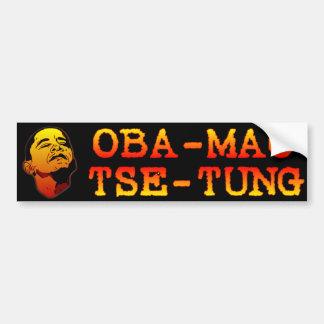 Oba Mao Tse Tung Car Bumper Sticker
